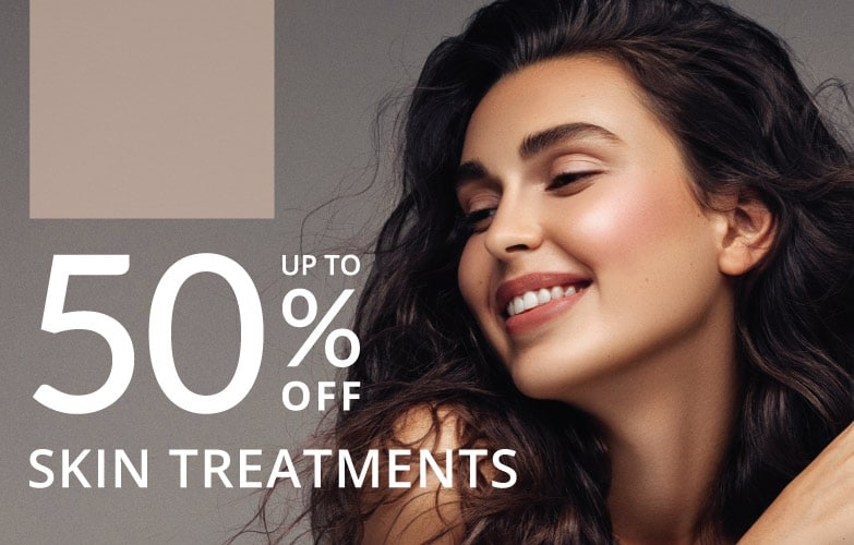 50% off for skin treatments only at Results Laser Clinic