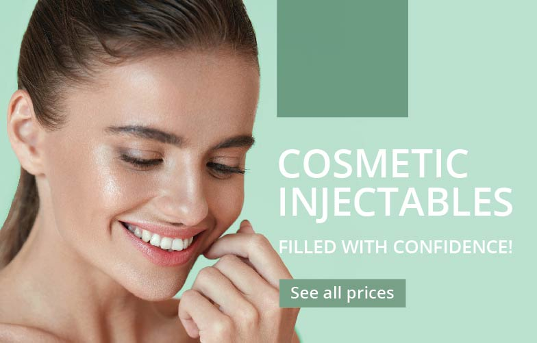cosmetic injectables at Results Laser Clinic