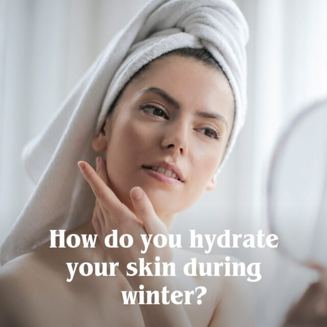 We would love to know what are you doing right now to hydrate your skin this winter? Comment below to let us know how you help your skin stay in the best condition during the colder months ❄️ 🌬🌧