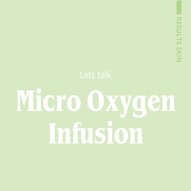 Our Micro Oxygen Infusion deeply exfoliates and instantly hydrates the skin with visible results after treatment. check out our stories for a video of the treatment. ❇️Micro Oxygen Infusion on sale for $60   Book in a complimentary consulation with our expert therapists today!