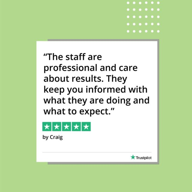 Another day, another happy client! Thank you Craig for sharing your positive experience with our team in clinic!  Have you booked your first complimentary consultation with us? Start your journey with us today - link in bio