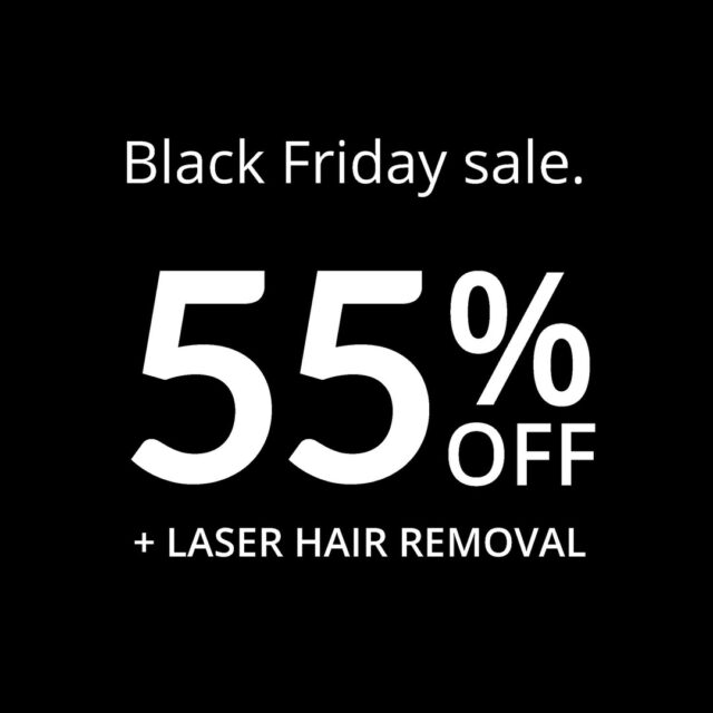 Run don't walk! Your favourite laser treatments are on sale. Shop online now! - link in bio