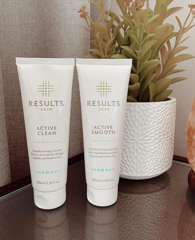 Results Active Clean + Results Active Moist = healthy, silky, smooth, clean, glowing skin 🧖‍♀️   Explore our full range of Results Active skincare products online or in clinic today !  Image via @happiertash