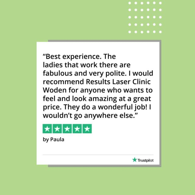 Paula, thank you for your lovely words about our @westfieldwoden team  To start your journey with us today save time, book online - link in bio