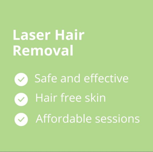 Trade in hair removal creams, waxing and shaving for a painless and cost effective #laserhairremoval experience.  Have you booked in your next treatment yet?