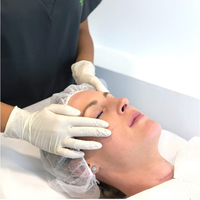 Our Chemical Peels are specially formulated to work both underneath & on the surface of the skin, targeting and treating cells that cause acne breakouts, traumatic pigmentation and collagen loss.  Curious about Chemical Peel treatments and their results? Start your skin journey today with our Chemical Peels + LED Light Therapy combo. $89  Save time, shop online - link in bio