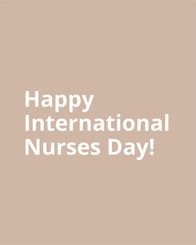 Today is International Nurses Day and we want to say to all nurses, thank you for providing the best care and treatments to your clients. Also to all those Nurses who have worked tirelessly over the last year to protect and care for us 💚  #internationalnursesday #nursesday