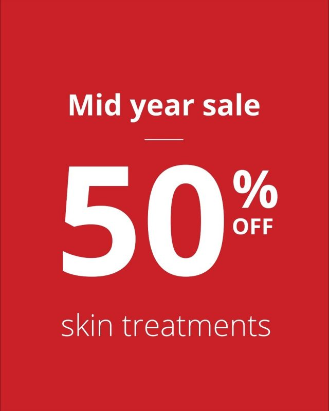 50% off Chemical Peels, Microdermabrasion & Skin Needling? YES PLEASE! 😍   What treatment are you treating yourself to today?