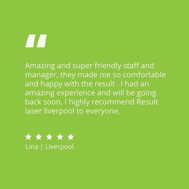 Client Love 💚  thank you Lina for your kind words for our @liverpoolwestfield clinic  Our team are passionate about creating a tailored plan to help you reach your skin goals!   Start your journey with us today - link in bio